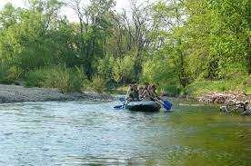 Sjíždění řeky Dyje